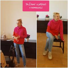 34.čtení s herečkou Janou Plodkovou 19.2.2019 ve 14 hodin v refektáři.