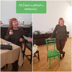 33.čtení s herečkou Bárou Štěpánovou 31.1.2019 ve 14 hodin v refektáři.