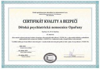 Systém řízení kvality v DPN Opařany