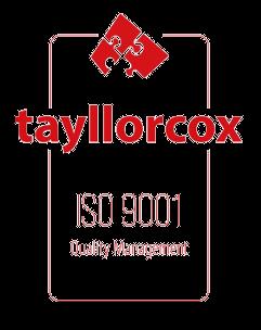 Certifikát - TaylorCox ISO 9001