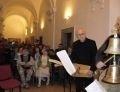 Muzikanti Musica Da Chiesa s obecenstvem v Refektáři DPN